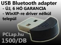 mini BlueTooth Adapter - USB - garanciával, postán is!