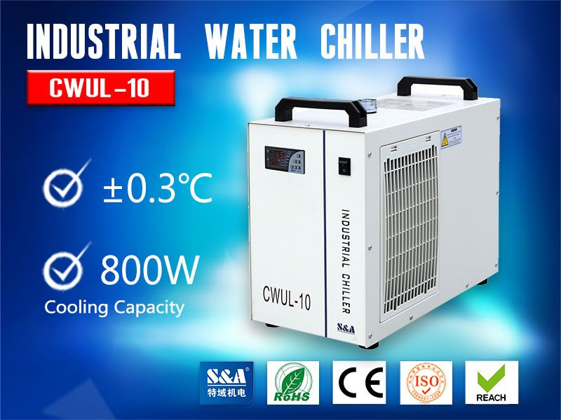 S&A Water Chiller Unit CWUL-10 for Cooling 10W UV Laser